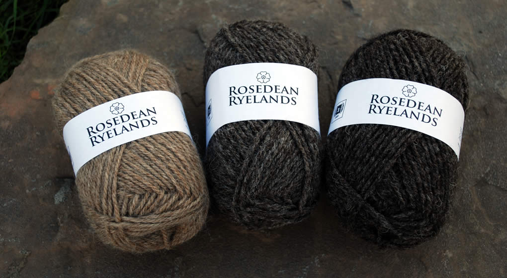 Rosdean Ryelands yarn