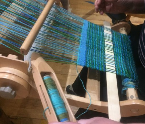 Beginners weaving course