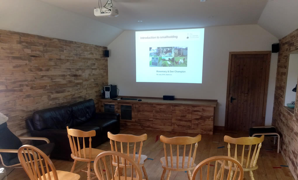 Dalmore training room